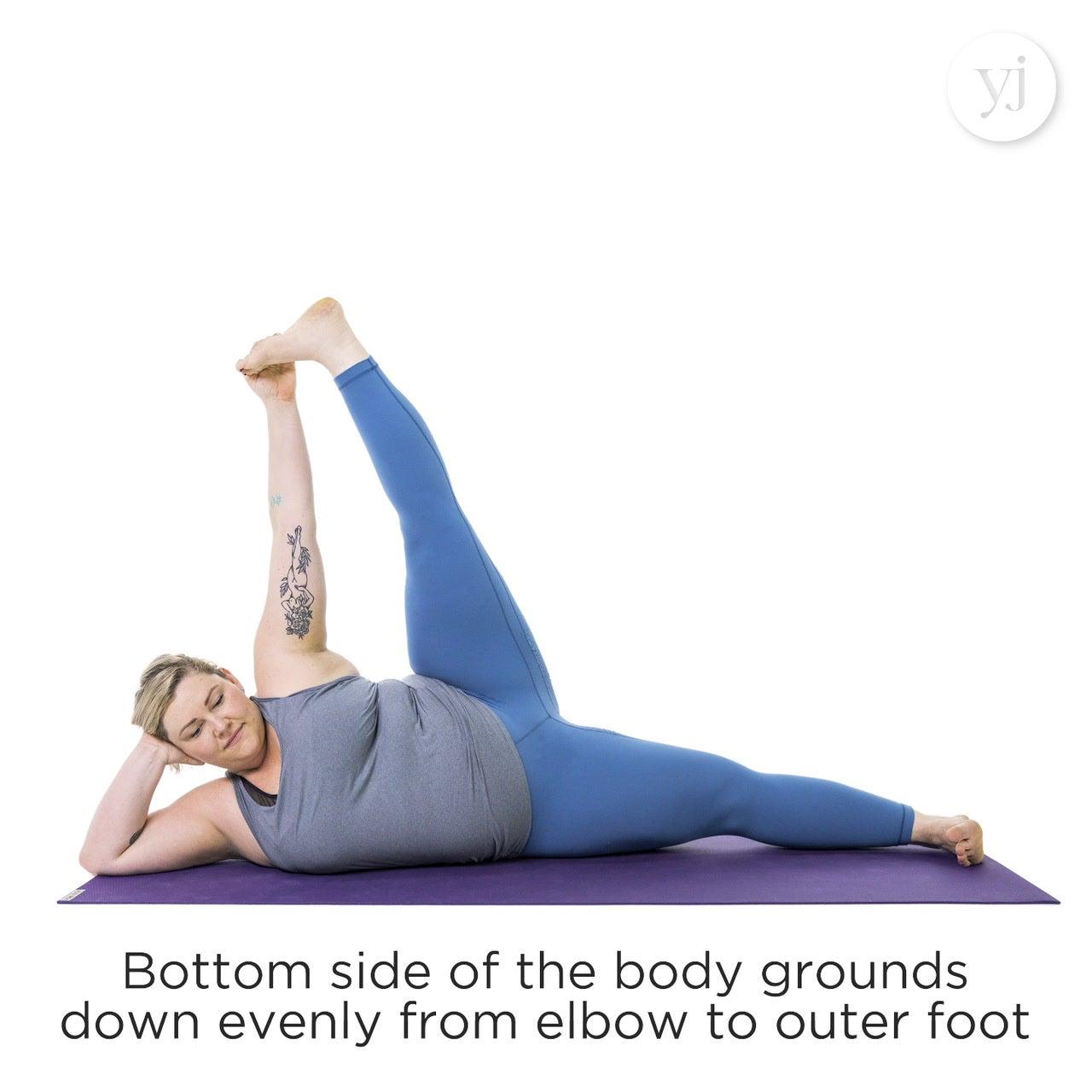 Side Reclining Leg Lift (Anantasana)