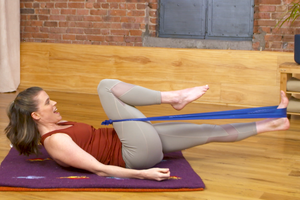 Release Tight Hips with This Resistance Band Move