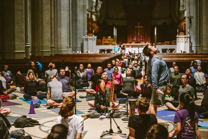 Grace Cathedral Christmas Concerts 2021 Schedule A Diverse Yoga Community At San Fran S Grace Cathedral Is Fostering Inclusivity And Healing