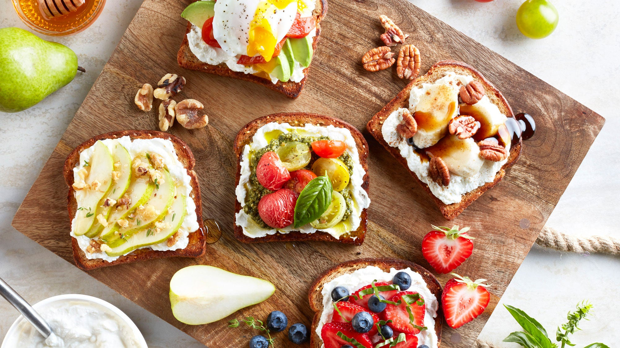 Why Ricotta Toast Is the New Avocado Toast