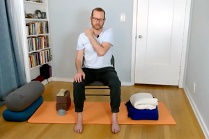 Reverse Zoom Fatigue With a Revitalizing Chair Yoga Practice