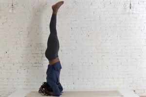 Inversion Challenge, Day 3: Supported Headstand