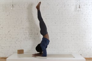 Inversion Challenge, Day 4: Forearm Stand